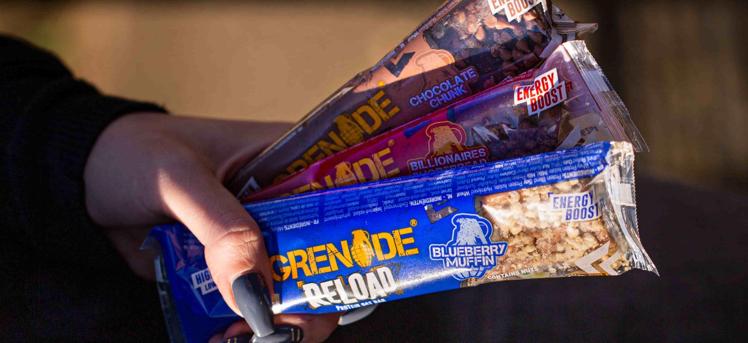 Grenade Reload oat energy bar