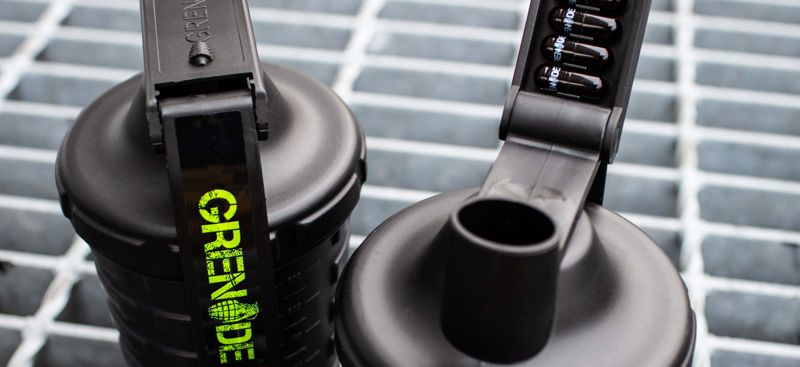 Supplements in Grenade shaker